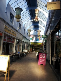 Granville Arcade in a quiet moment - not for long!  Very chi-chi