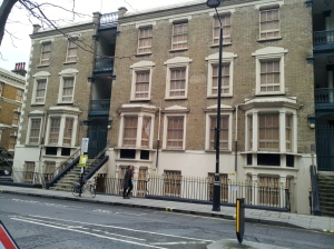 Victorian apartments which if demolished and rebuilt for 21st Century life could be used to house MPs at very little expense